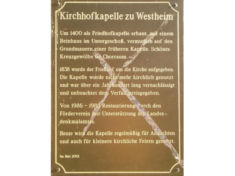 Kirchhofkapelle Rosengarten