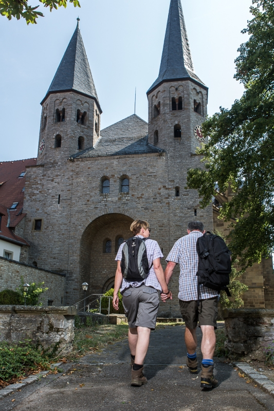 Ritterstiftskirche St. Peter - Kloster Bad Wimpfen im Tal