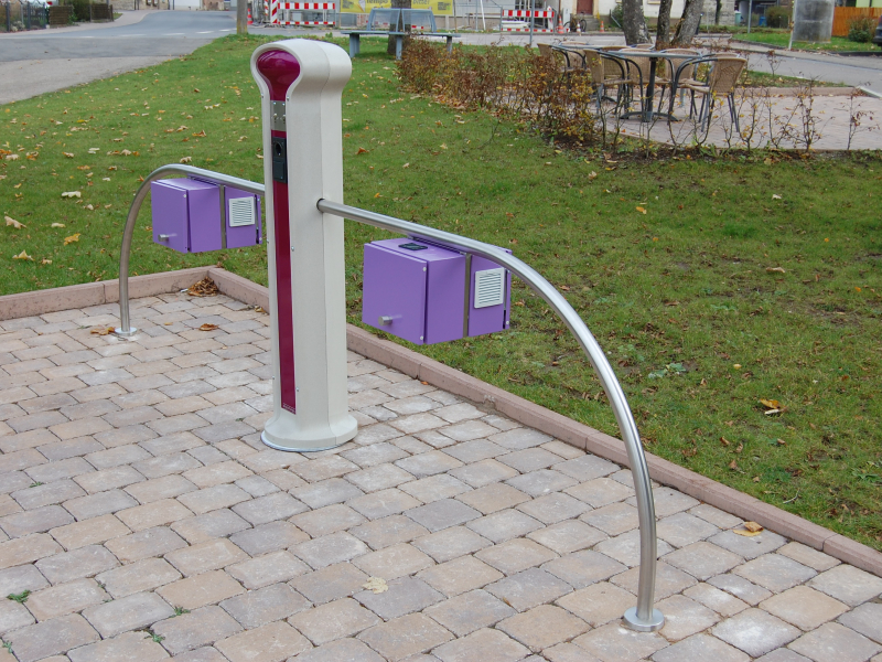 E-Bike Ladestation Jagsthausen