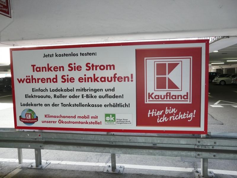 E-Bike-Ladestation Kaufland Neckarsulm