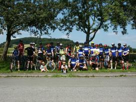 Sportlich aktiv auf dem Mountainbike-Rundkurs Waldbrunn