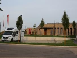 Wohnmobilstellplatz an der Genossenschaftskellerei