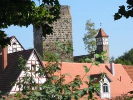 Roter Turm - Wachturm der Kaiserpfalz Bad Wimpfen am Neckar