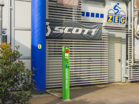 E-Bike-Ladestation Bike Arena Bender