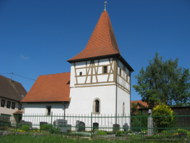 Dionysius-Kapelle in Frankenhardt-Spaichbühl