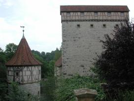 Schildmauer Amlishagen bei Gerabronn (Foto: Stadt Gerabronn)