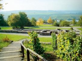 Weinausschankhütte am Römischen Gutshof