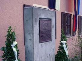 Jüdische Gedenktafel in Olnhausen