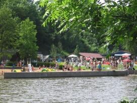 Campingplatz Künzelsau, Kocherfreibad, Hohenlohe