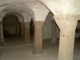 Freigelegte Krypta in Unterregenbach Langenburg