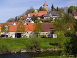 Möckmühl mit Schlossberg