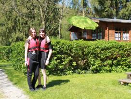 Spaß auf dem Naturcampingplatz Braunsbach