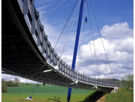 Radwegbrücke Jagsthausen