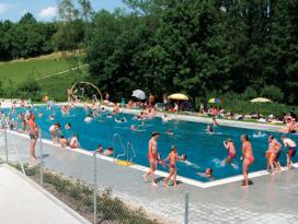 Freibad in Rosengarten-Rieden