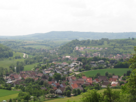 Blick auf Untermünkheim