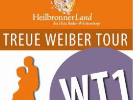 Routenplakette Treue Weiber Tour