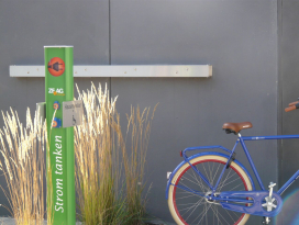 E-Bike-Ladestation Blue Office 2.0