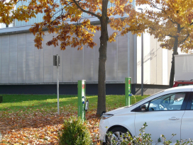 E-Bike-Ladestation Fachhochschule