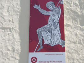 Johannitermuseum Krautheim, Schild
