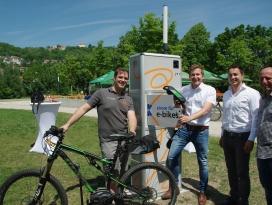 Ladestation für Elektro-Fahrräder