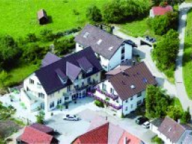 Fahrradfahren in Hohenlohe: Landgasthof Lell, Künzelsau-Belsenberg