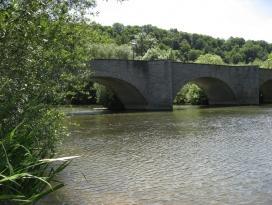 Jagstbrücke in Jagsthausen